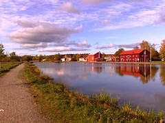 Fall at Göta Canal in Sweden #8