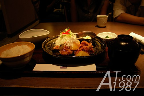 Dinner at Ootoya, Central World Plaza