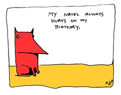 navel hurts - yo & dude (eric Hews) Tags: birthday copyright dog cats cute dogs television illustration cat puppy advertising hurts fun corporate virginia puppies kitten funny eric artist comic employment drawing web yo birth humor cartoon emo creative culture kitty free funnies kittens philosophy pop richmond dude belly strip button writer comicstrip mean illustrator haha toon simple behavior society navel 2009 sarcasm unemployment freelance sarcastic psychology ambivalent hews yodude erichewscom yoanddude erichews yodude 2009erichews ennuizle