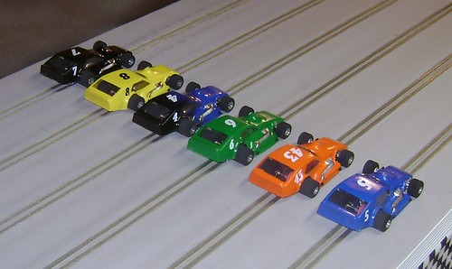 1/32 scale asphalt modified slot cars