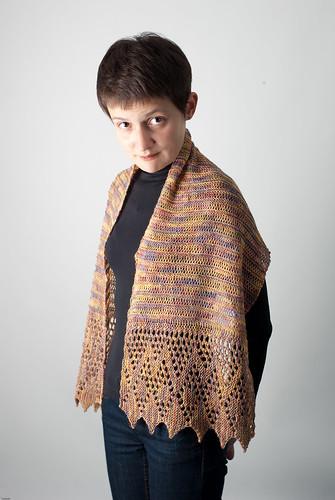 Рхема узора коса кельтская косичка для вязания спицами.