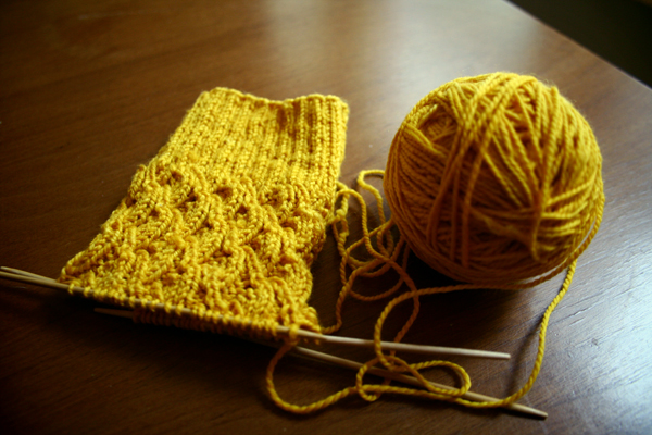 WIP Child's First Sock