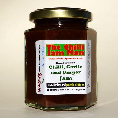 Chilli, Garlic and Ginger Jam