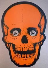 SKULL PRINT 2 (MONSTERWORSHIP) Tags: halloween print skull remember beistle
