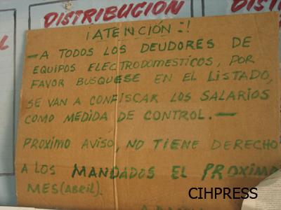 Cartel en una bodega cubana HPV 020 copia