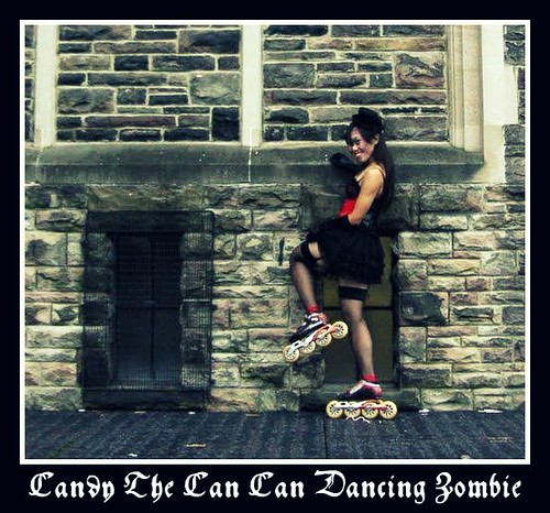 Can Can Dancing Zombie