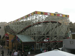 Wild Mouse (CoasterMadMatt) Tags: wooden lancashire amusementpark rides rollercoaster blackpool themepark attractions pleasurebeach wildmouse