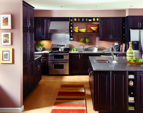 Modern Cherry Kitchen Cabinets kitchen cabinet design
