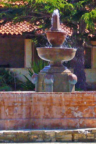 Fountain - Carmel Mission