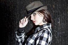[フリー画像] [人物写真] [女性ポートレイト] [白人女性] [帽子]       [フリー素材]