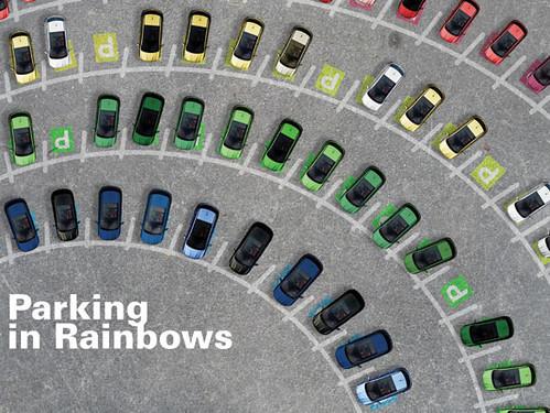 regenboog parkeren