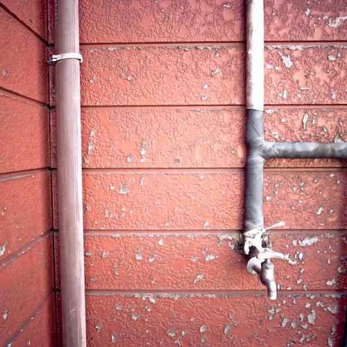 Red Wall Spigot