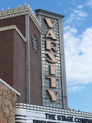 The Varsity Center of the Arts: Carbondale, Il (Onasill ~ Bill Badzo) Tags: lighting cinema art architecture marquee illinois theater downtown exterior view theatre live interior performing style center moderne varsity re