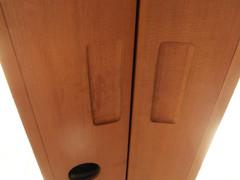 Fermeture de la porte et poignées