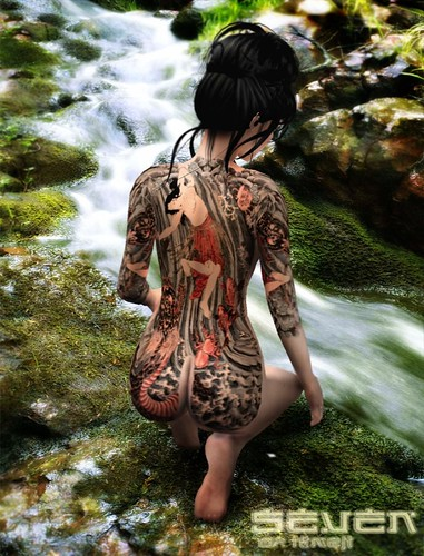 japanese waterfall tattoo. Waterfall tattoo stream