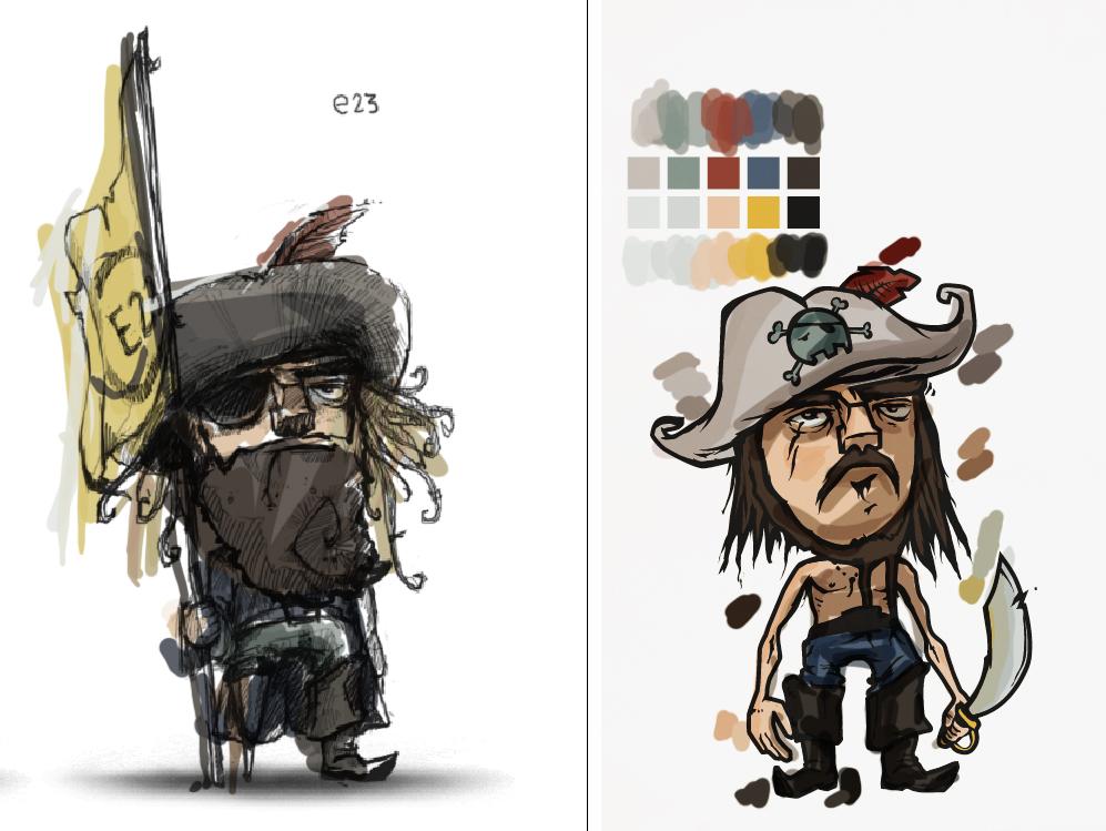 piraten im farbrausch