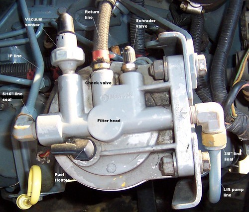 92 ford 7 3 idi fuel filter location 7 3 powerstroke fuel filter housing 89 f250 7.3 fixer upper, i'm fixingit!! - page 2 - ford ...