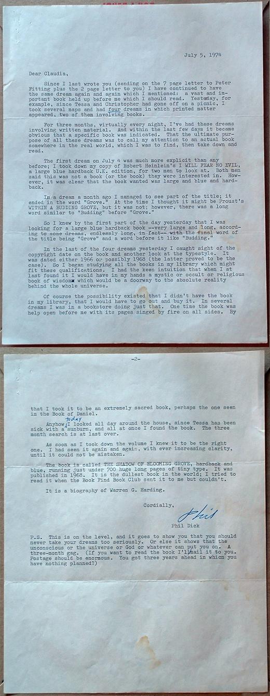 Philip K Dick Letters 9