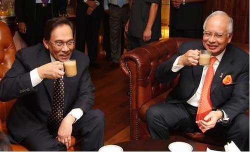 Najib dan Anwar