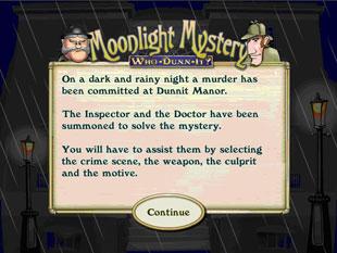 free Moonlight Mystery slot bonus game