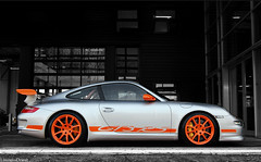 Gt3 Rs Explored!! (Laurens Driest) Tags: orange white black color contrast silver photography nikon 911 kitlens automotive center porsche groningen 1855 laurens rs centrum supercar combo gt3 997 euroborg d40 driest