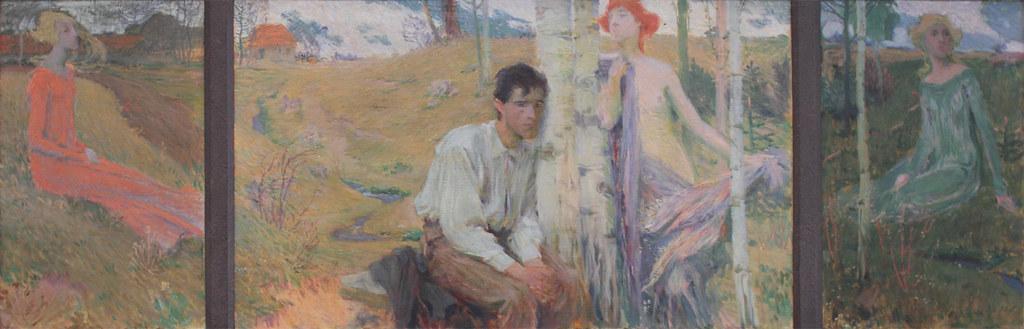 Jan Preisler, Spring, 1900
