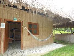 The dorm room at El Retiro Lodge.