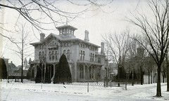 David Ward Residence (southofbloor) Tags: house david tower architecture lost detroit cupola villa belvedere mansion lantern ward cass destroyed turret demolished italianate bagg bracketed