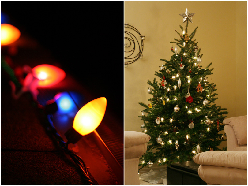 Christmas Lights & Tree