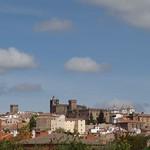 Cáceres: alzado sur dia