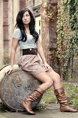 Erika (jordanvoth.com) Tags: light cute girl dark hair model nikon pretty natural gorgeous jordan explore short erika alienbee 70200mm d300 voth explored 18135mm b800