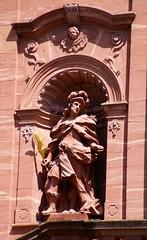 Amorbach, Abteikirche, hl. Simplicius (Abbey Church, St. Simplicius) (HEN-Magonza) Tags: amorbach abteikirche hlfaustinus barock baroque abbeychurch märtyrer martyr saintsimplicius sansimplicio mainfranken unterfranken bayern bavaria lowerfranconia odenwald