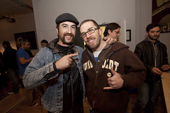 @kk and @uncleweed at @wghthemovie pre-screening in Dec. 2009