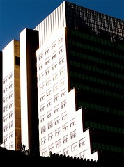 new york city building sharp angles