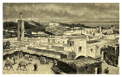 071-Vista general de Tanger-Morocco its people and places-Edmondo De Amicis 1882