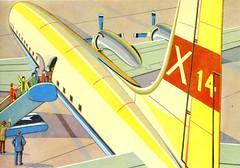 Embarquement immdiat et bis repetita. (Ribambelles & Ribambins) Tags: vintage airplane coloring avion coloriage