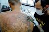 Tatuagem Dragão Medieval Costas Tattoo www.micaeltattoo.com.br micaeltattoo.wordpress.com/ micaeltattoo.daportfolio.com