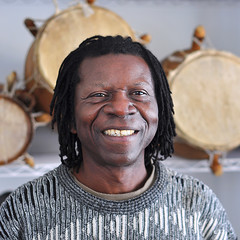 Djam Vivie, Madison Musician, Woodcarver and Drum Maker