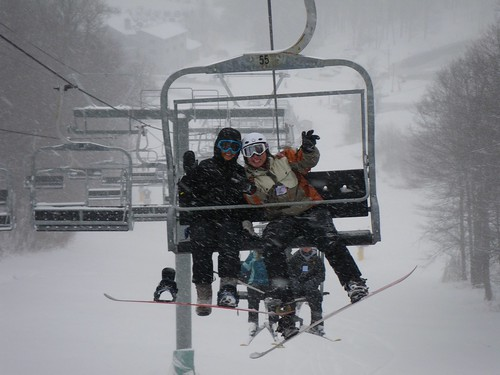 Snowboarding Hidden Valley 2009