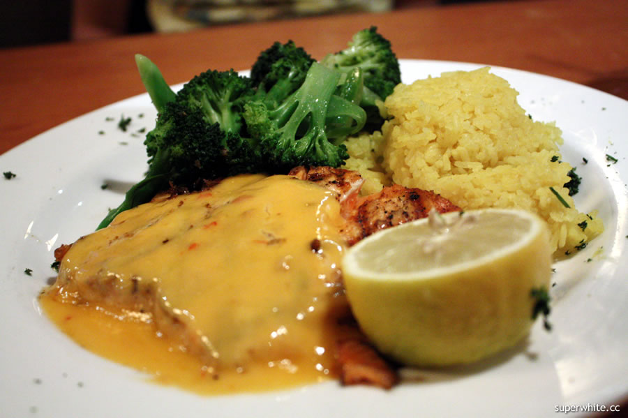 Tony Roma's Grilled salmon