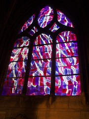 'Penitence' Window (Aidan McRae Thomson) Tags: paris france church window modern contemporary stainedglass vitrail eglise stseverin jeanbazaine