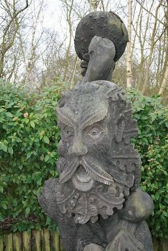 Green Man Sculpture Shorne Country Park