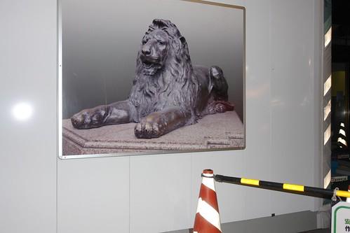 Mistukoshi Ginza Lion photo.