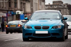 BMW M3 (Valkarth) Tags: blue green canon eos scotland julien europe mark turquoise sigma vert bleu aberdeen ii bmw 5d m3 julius f28 mk mkii markii 70200mm ecosse valk deutsh allemande 5d2 valkarth fautrat