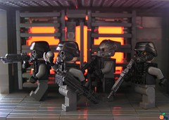 Helghan belongs to the Helghast (ORRANGE.) Tags: 2 orange lego wip running x hazel sta 52 orrange customs helghast killzone helghan