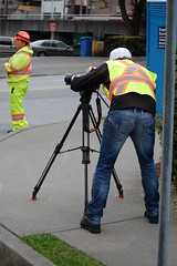 Using a Canon for HD video (Mark Faviell Photos) Tags: city vancouver canon video construction bc pipe central ave 5d hd 8th transmission fairview slopes