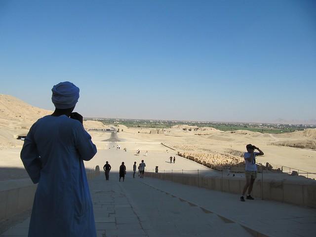 View from the Hatshepsut Temple II