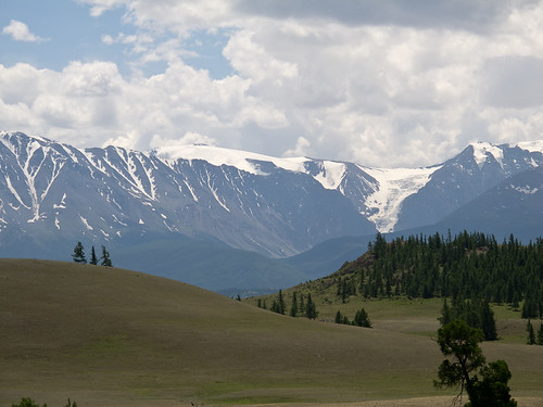 Altay mountain landscape