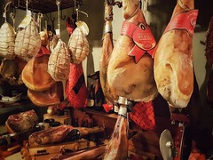 A little something?.. (Мaistora) Tags: meat ham jamon gammon dried smoked cued elite famous praga parma prague serrano decor decoration restaurant eatery quality phone mobile galaxy s7 samsunggalaxys7 android snapseed prosciutto prosciuto