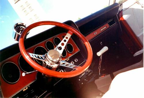 1972 Ford Gran Torino Sport dash shot. by torinodave72.